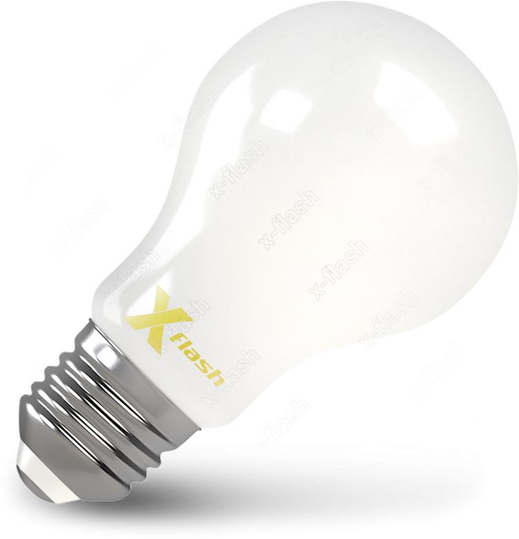 Лампочка X-Flash, Теплый свет 8 Вт, Светодиодная лампочка x flash 48762