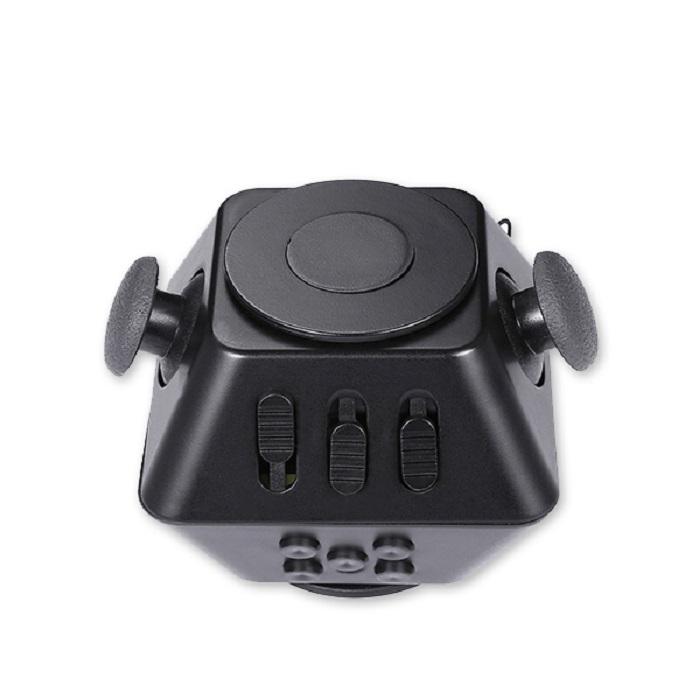 Игрушка антистресс Boom Spinner Cube черный игрушка антистресс fidget cube белый 6125