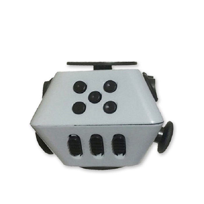 Игрушка антистресс Boom Spinner Boom Spinner Cube, BoomSpinnerCube/gray_black серый игрушка антистресс fidget cube белый 6125