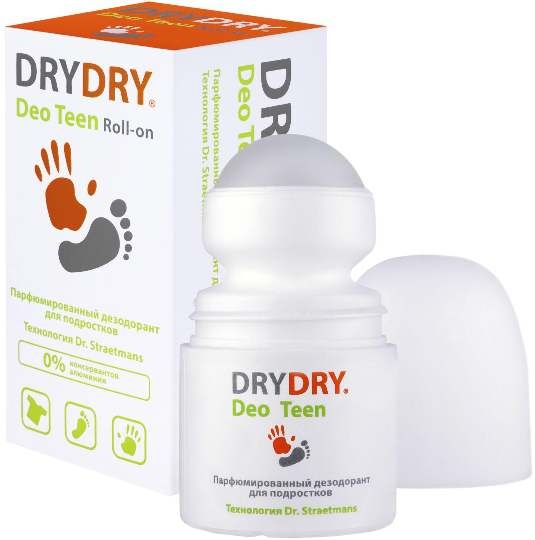 Дезодорант Dry Dry Deo Teen Roll-on / Драй Драй Део Тин Ролл-он, 50 мл. – парфюмированный дезодорант для подростков, 95