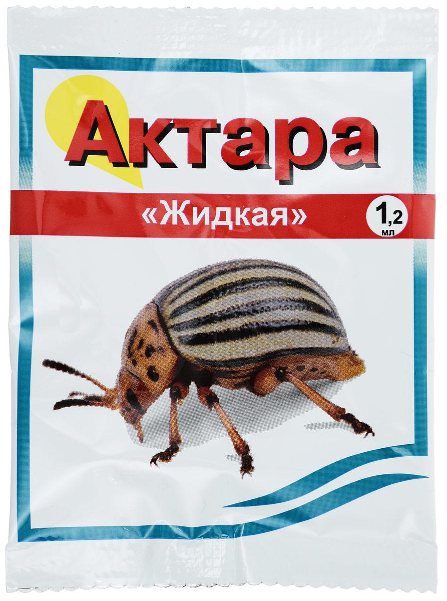 Препарат для защиты растений Ваше хозяйство Актара, от вредителей, 1,2 мл цена