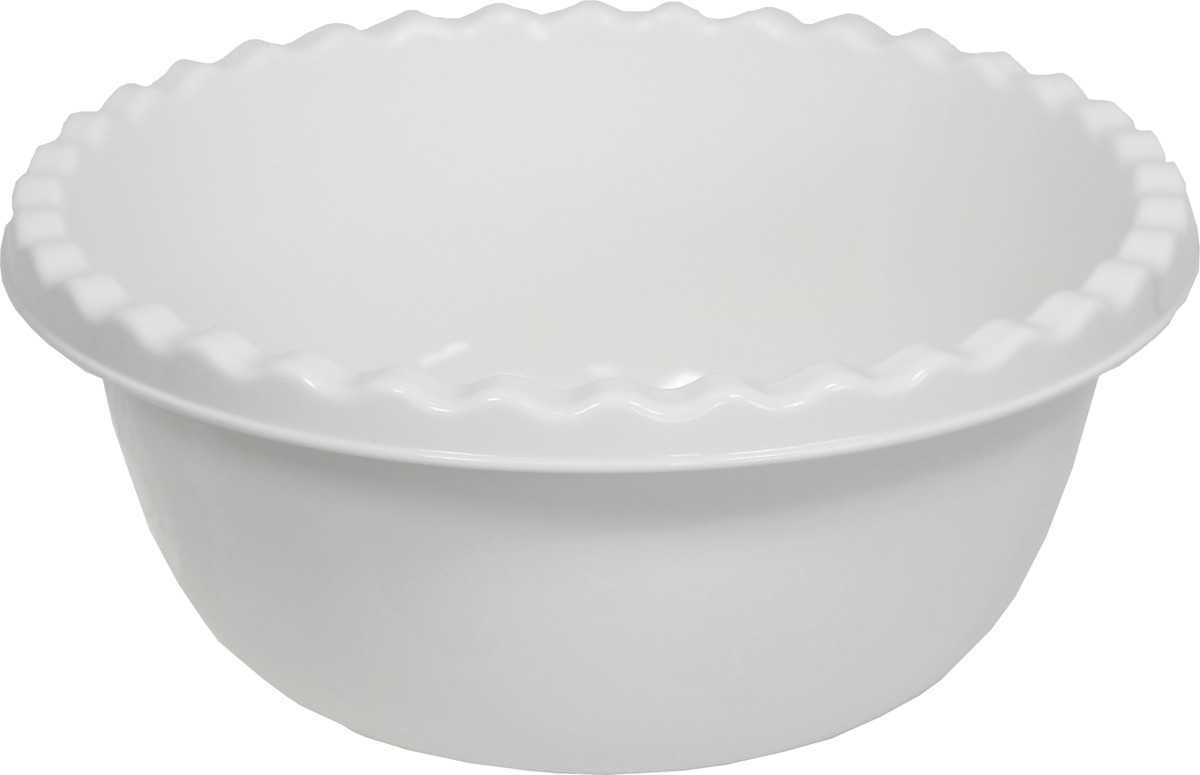 Миска Idea, цвет: белый ротанг, 8 л