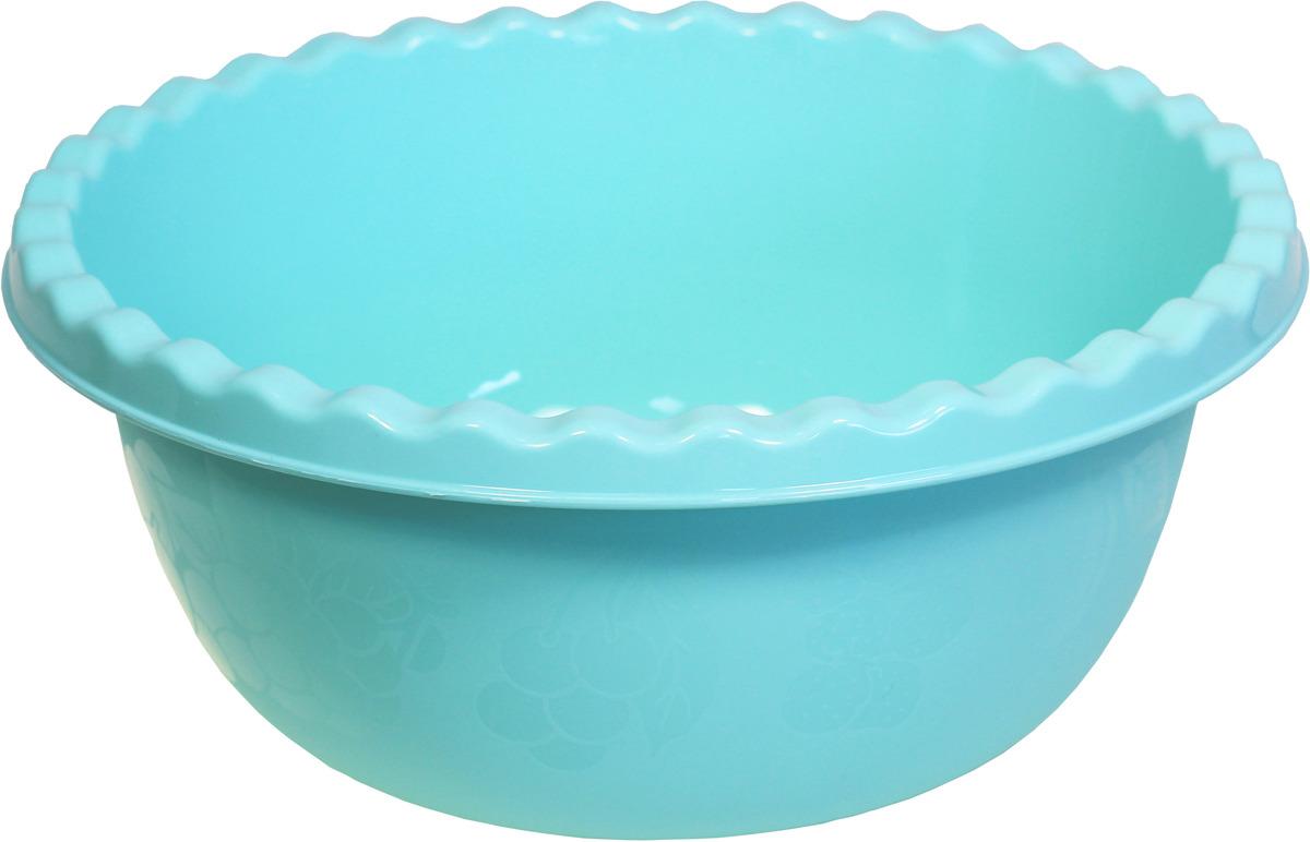 Миска Idea, цвет: аквамарин, 8 л