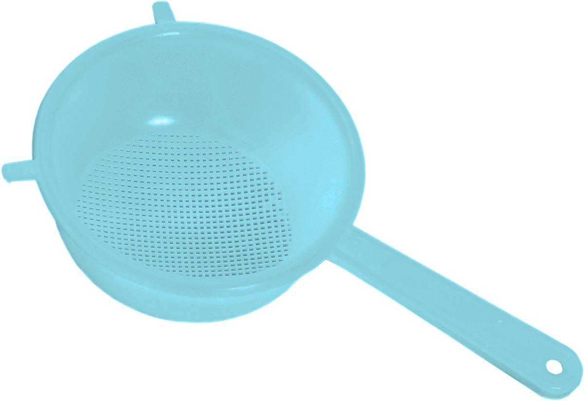Дуршлаг Idea, цвет: аквамарин, диаметр 20 см дуршлаг tima md08 22