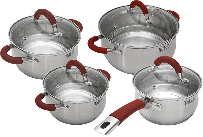 """Набор посуды Taller """"Милфорд"""", 8 предметов. TR-7150"""