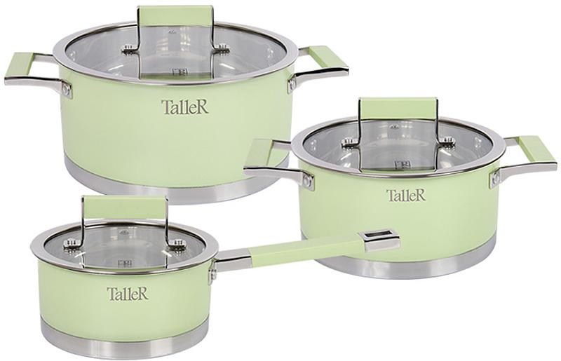 """Набор посуды Taller """"Минт"""", 6 предметов. TR-7170"""