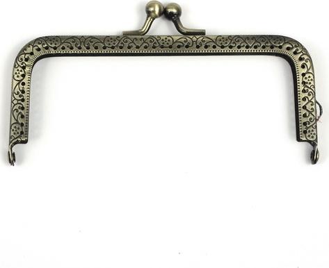 "Застежка для сумок ""RTO"", 11,5 см. 14-BC"