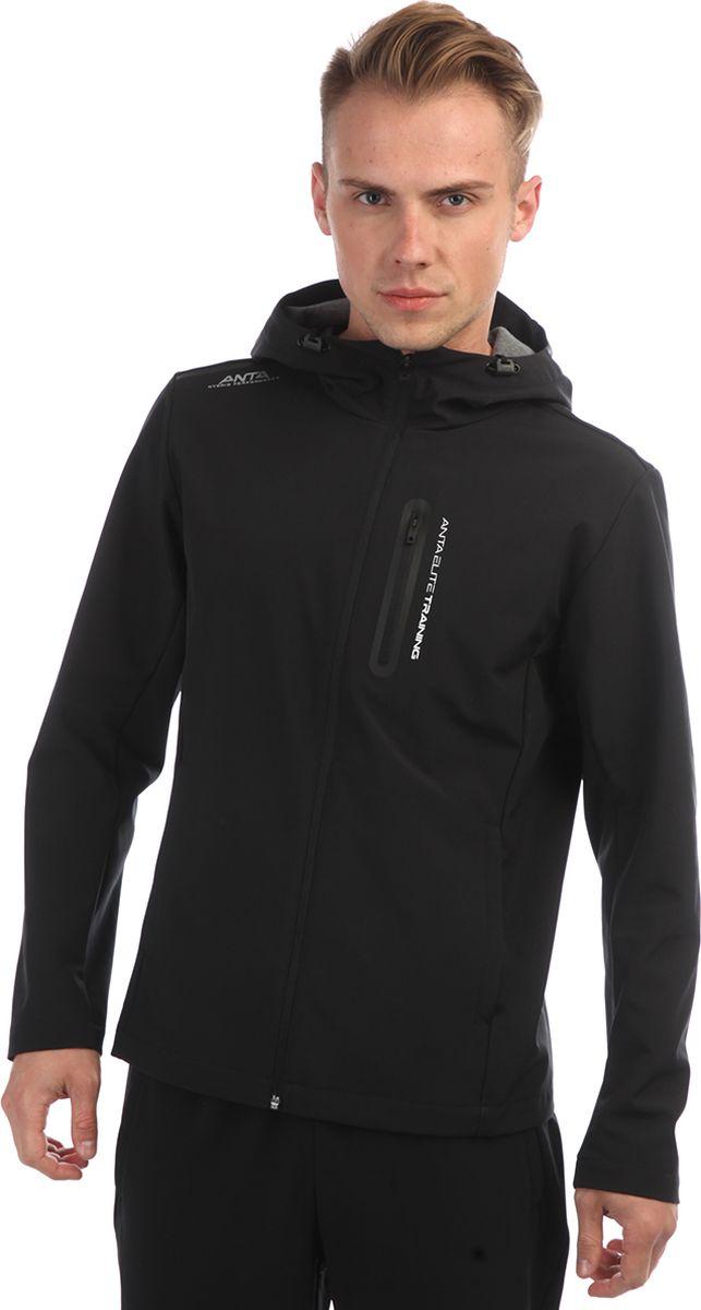 Куртка мужская Anta, цвет: черный. 85833615-3. Размер M (48)85833615-3
