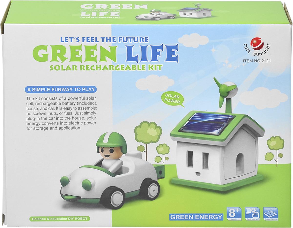 """Набор для опытов Cute Sunlight """"Солнечный набор. Зеленая жизнь"""""""