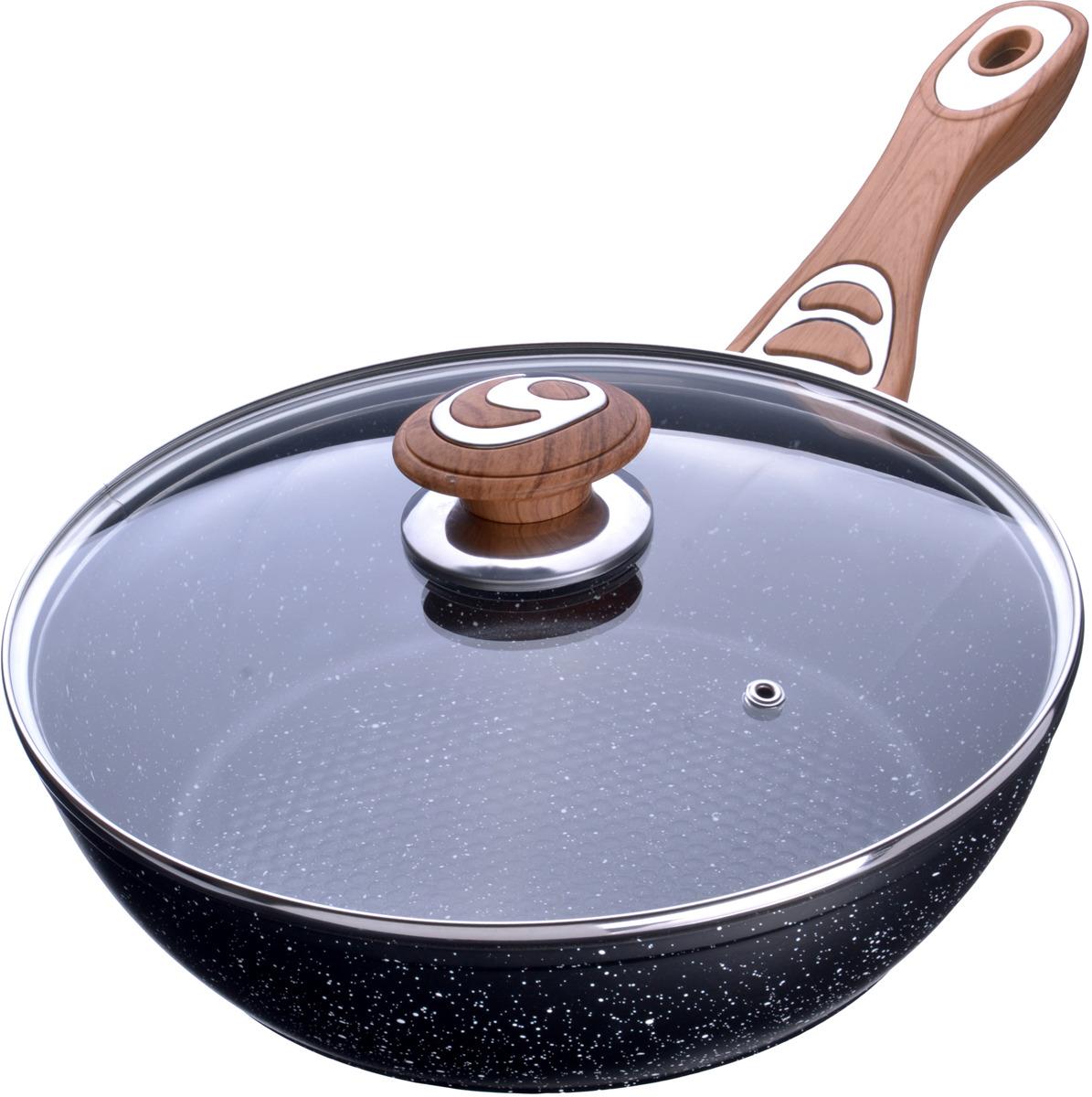 Сковорода-сотейник Mayer & Boch, с антипригарным покрытием, с крышкой. Диаметр 26 см. 27969