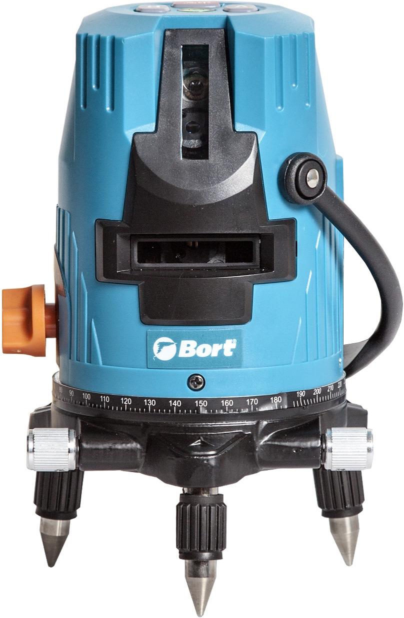 Лазерный уровень Bort BLN-15, автоматический, цвет: бирюзовый