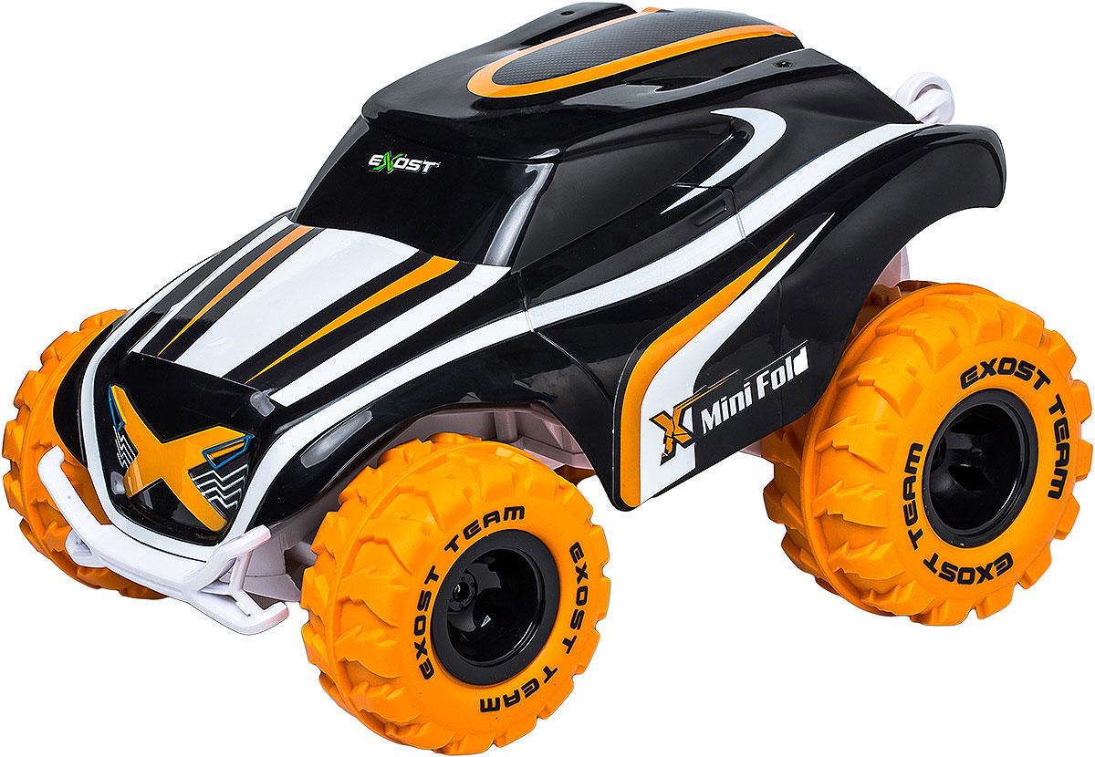 Машинка на радиоуправлении Silverlit Мини Фолд, масштаб 1:2020120Скорость: 7 км/ч- Экстремальные акробатические трюки- Эта машина может вставать на задние колеса и делать разворот на 360° на высокой скорости