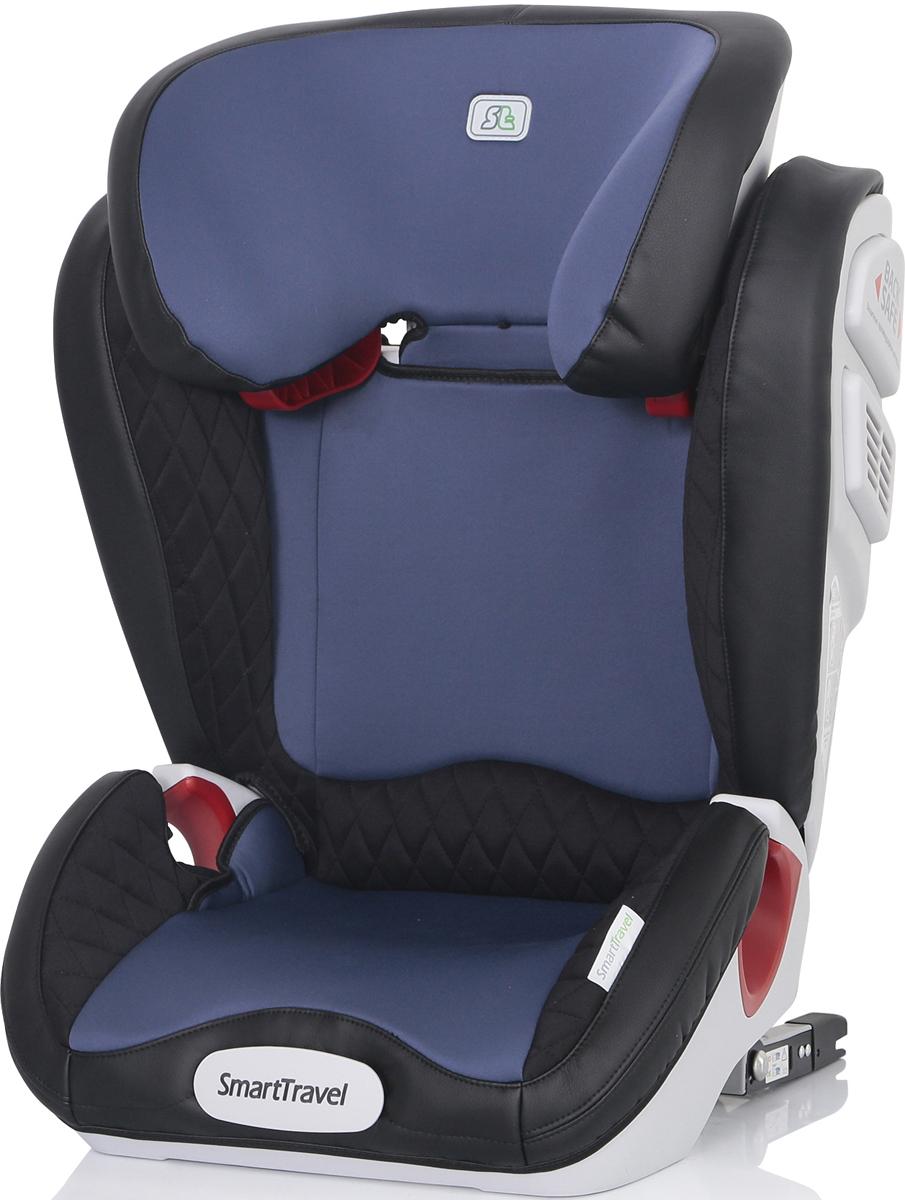 Автокресло Smart Travel Expert Fix Blue от 15 до 36 кг, KRES2071