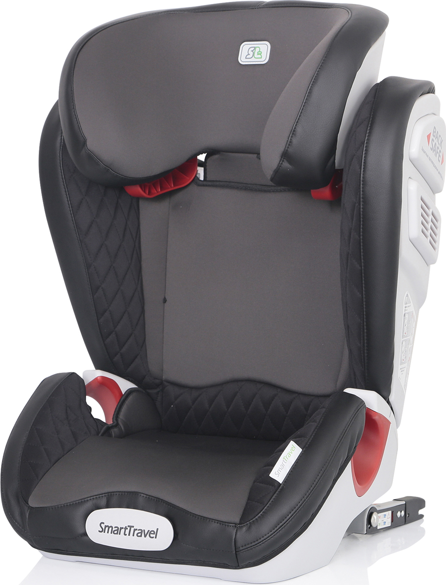 Автокресло Smart Travel Expert Fix Smoky от 15 до 36 кг, KRES2073, серый