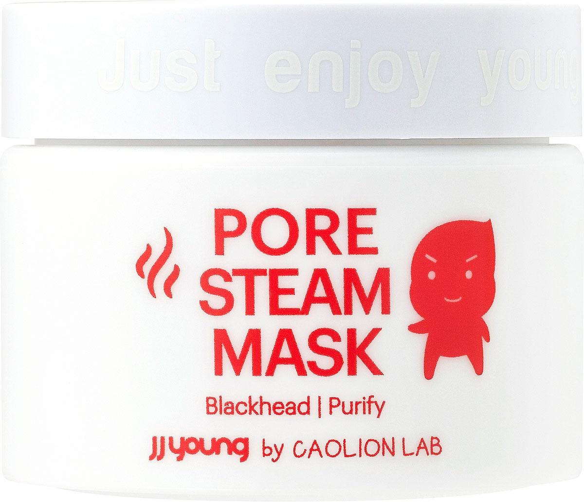 Маска от черных точек JJYong Pore Steam Mask, разогревающая, 50 г