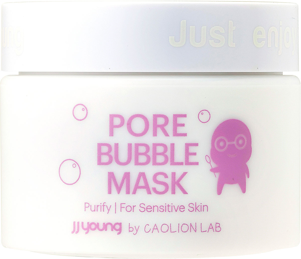 Маска от черных точек JJYong Pore Bubble Mask, кислородная, 50 г caolion маска от черных точек для т зоны pore blackhead eliminating t zone strip