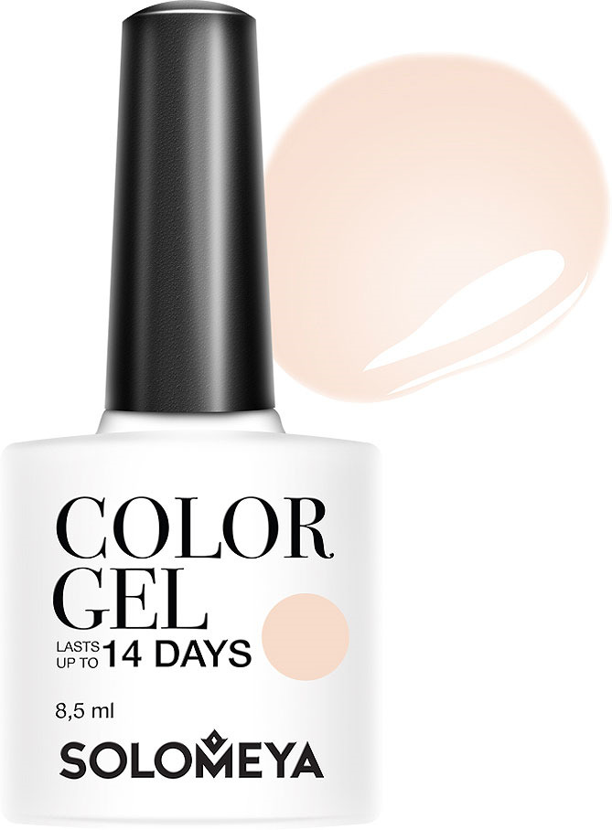 Гель-лак Solomeya Color Gel, тон 111 бежевый кашемир, 8,5 мл solomeya гель лак color gel тон beret scg034 берет 8 5 мл
