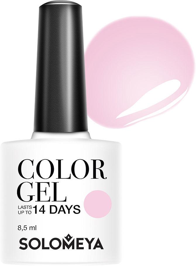 Гель-лак Solomeya Color Gel, тон 113 розовый шелк, 8,5 мл solomeya гель лак color gel тон marishka scg144 маришка 8 5 мл
