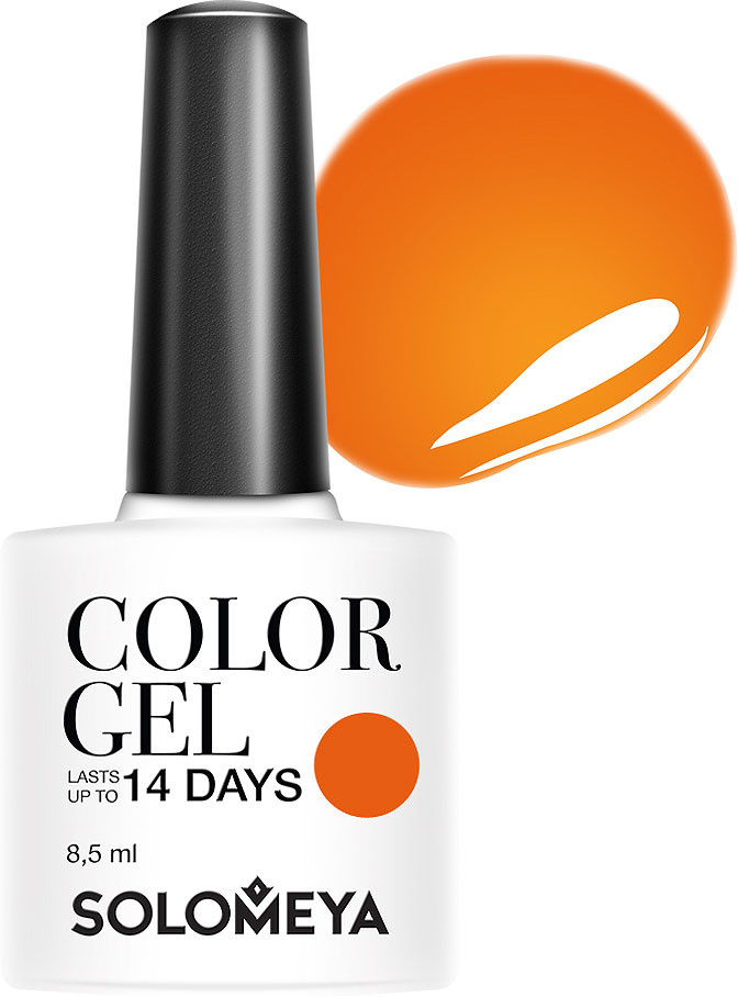 Фото - Гель-лак Solomeya Color Gel, тон 116 сладкая тыква, 8,5 мл solomeya гель лак color gel тон kelly scg119 келли 8 5 мл