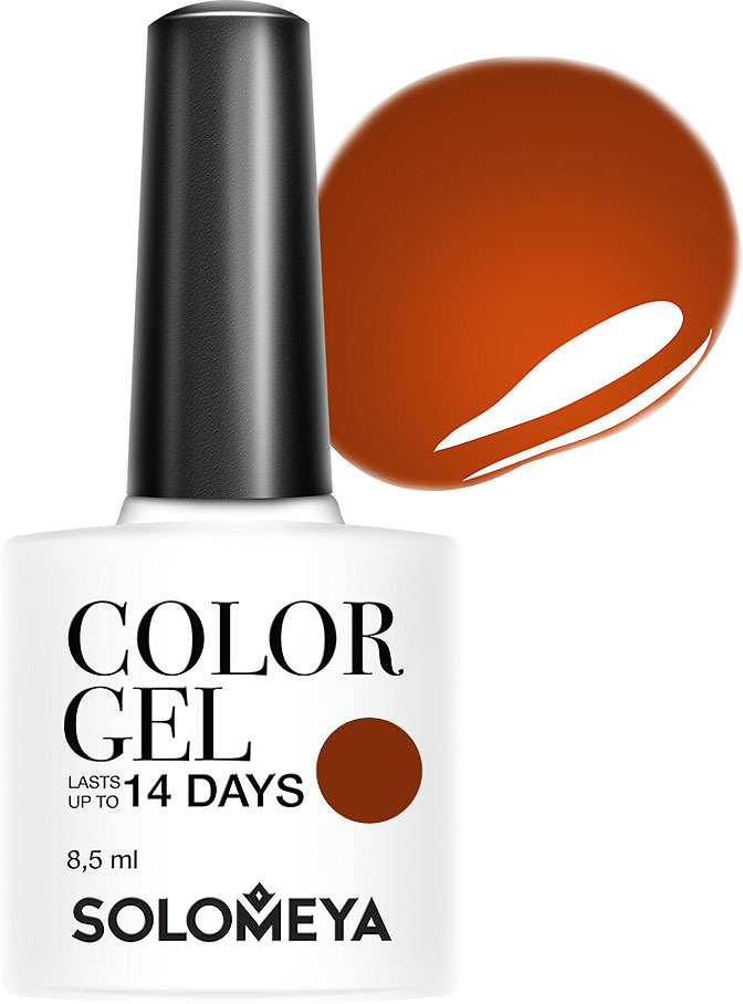 Гель-лак Solomeya Color Gel, тон 117 пряная корица, 8,5 мл solomeya гель лак color gel тон marishka scg144 маришка 8 5 мл