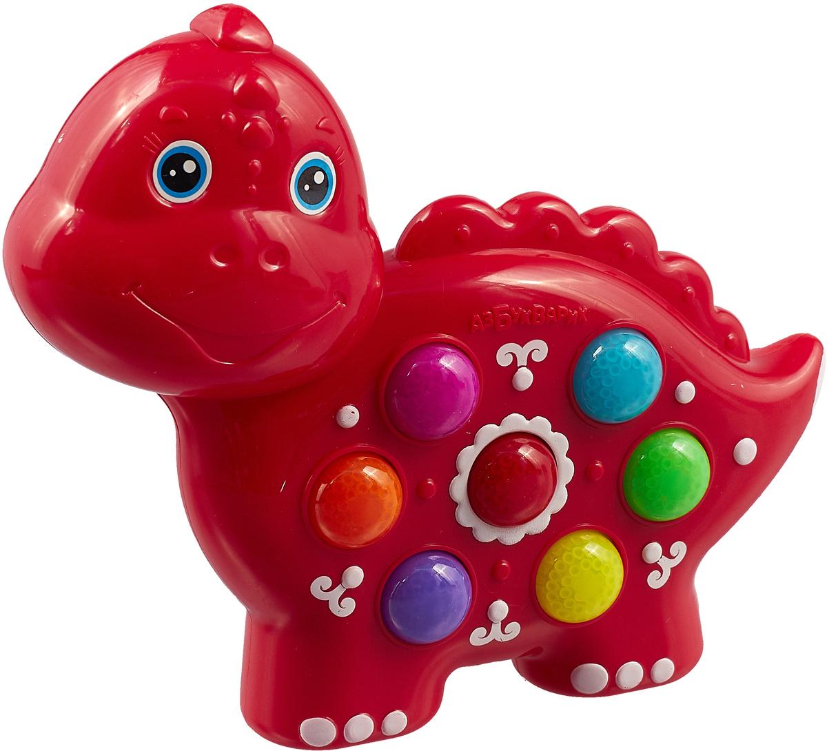 Фото - Музыкальная игрушка Азбукварик Веселушки. Динозаврик чудо часики азбукварик мой динозаврик