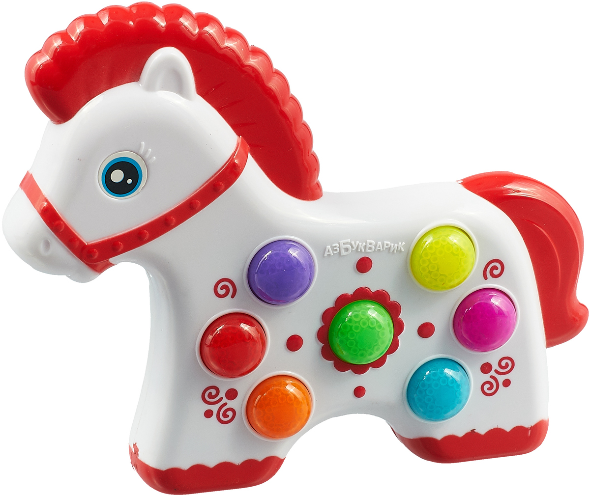 Музыкальная игрушка Азбукварик Веселушки. Лошадка азбукварик азбукварик что умеет лошадка серия мои первые стихи