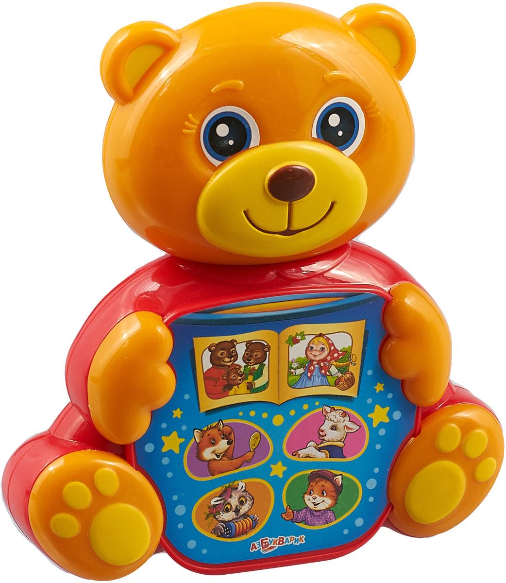 Музыкальная игрушка Азбукварик Любимая сказочка. Мишка косолапый игрушка обучающая музыкальная азбукварик ферма музыкальный домик