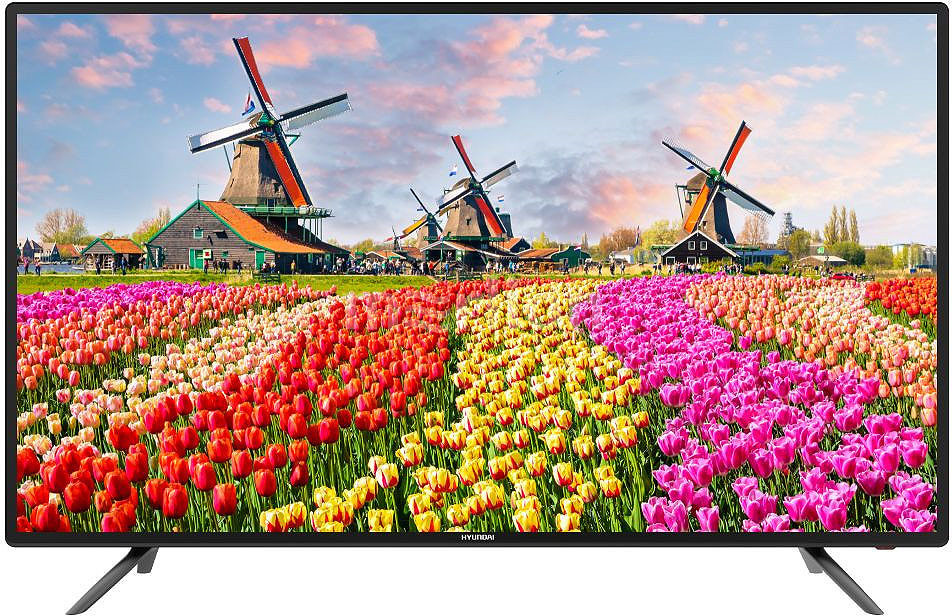 Телевизор HYUNDAI H-LED50F406BS2 50, черный телевизор led lg 32 32lv300c черный full hd 60hz dvb t2 dvb c dvb s2 usb rus
