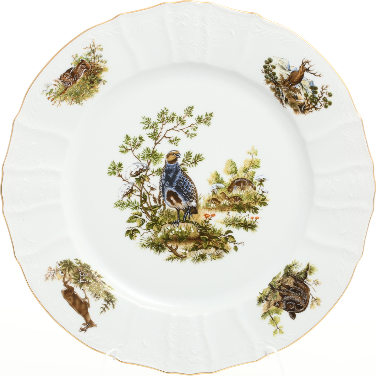 Блюдо Bernadotte Охота, круглое, диаметр 30 см цена
