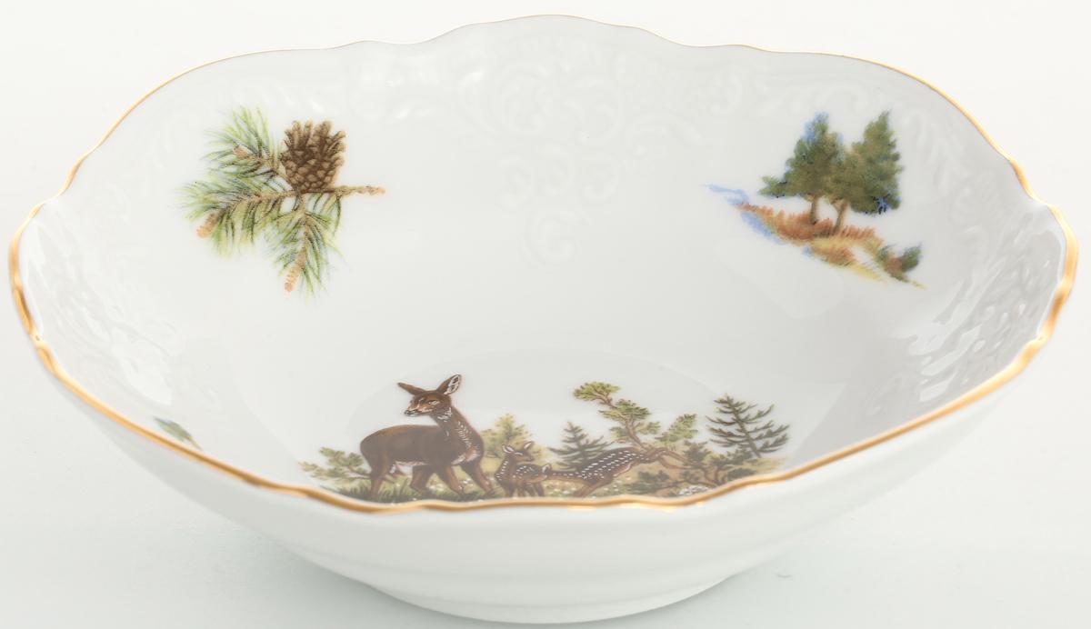 "Набор салатников Bernadotte ""Охота"", диаметр 13 см, 6 шт"