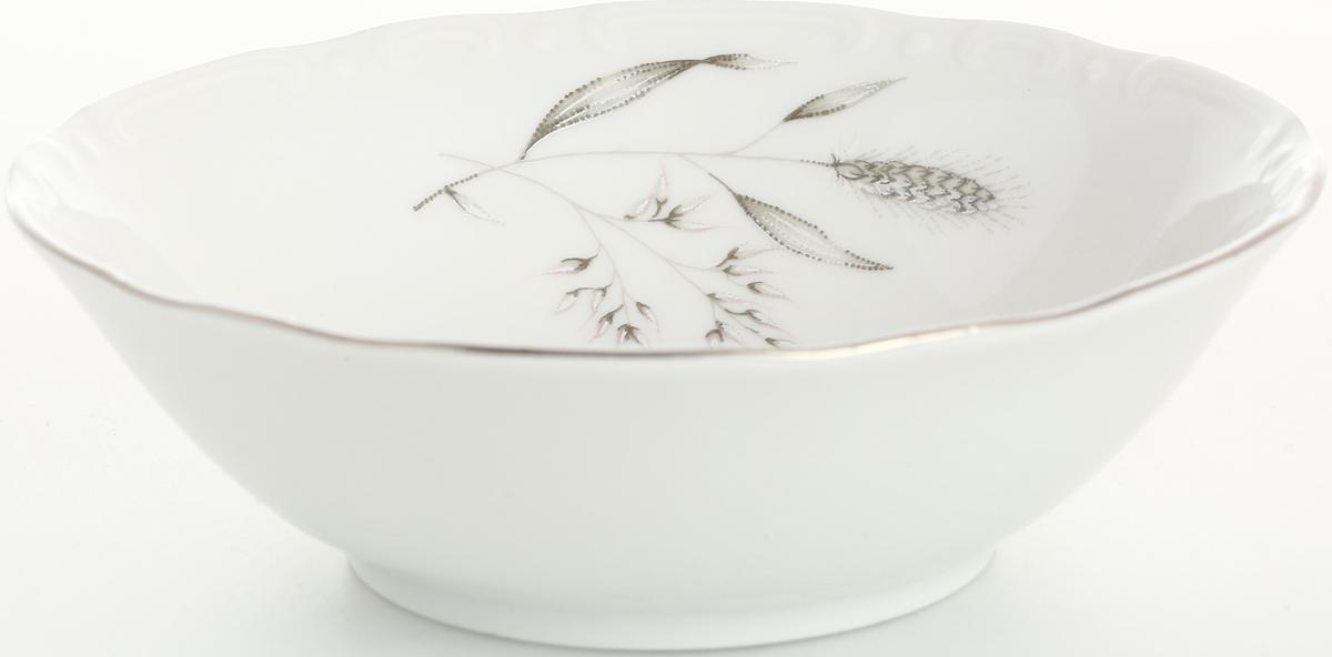 Набор салатников Thun Констанция. Серебряные колосья, диаметр 13 см, 6 шт набор салатников 19см 6шт констанция 628000