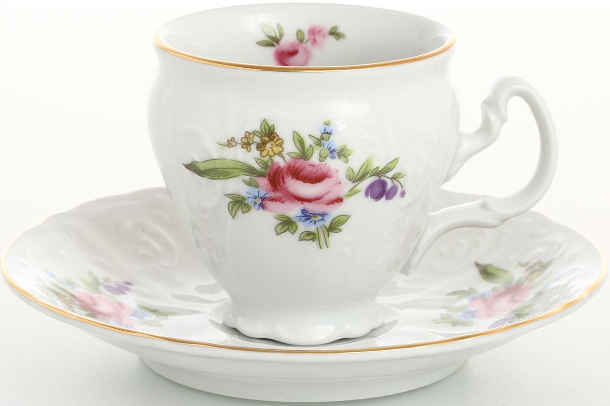 Набор кофейный Bernadotte Полевой цветок, 120 мл, 12 предметов набор формочек borner цветок 6 предметов