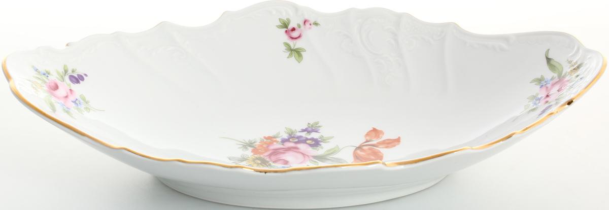 Фото - Блюдо для хлеба Bernadotte Полевой цветок, 34 х 21 см блюдо сервировочное weimar мейсенский цветок 21 21 см на ножке