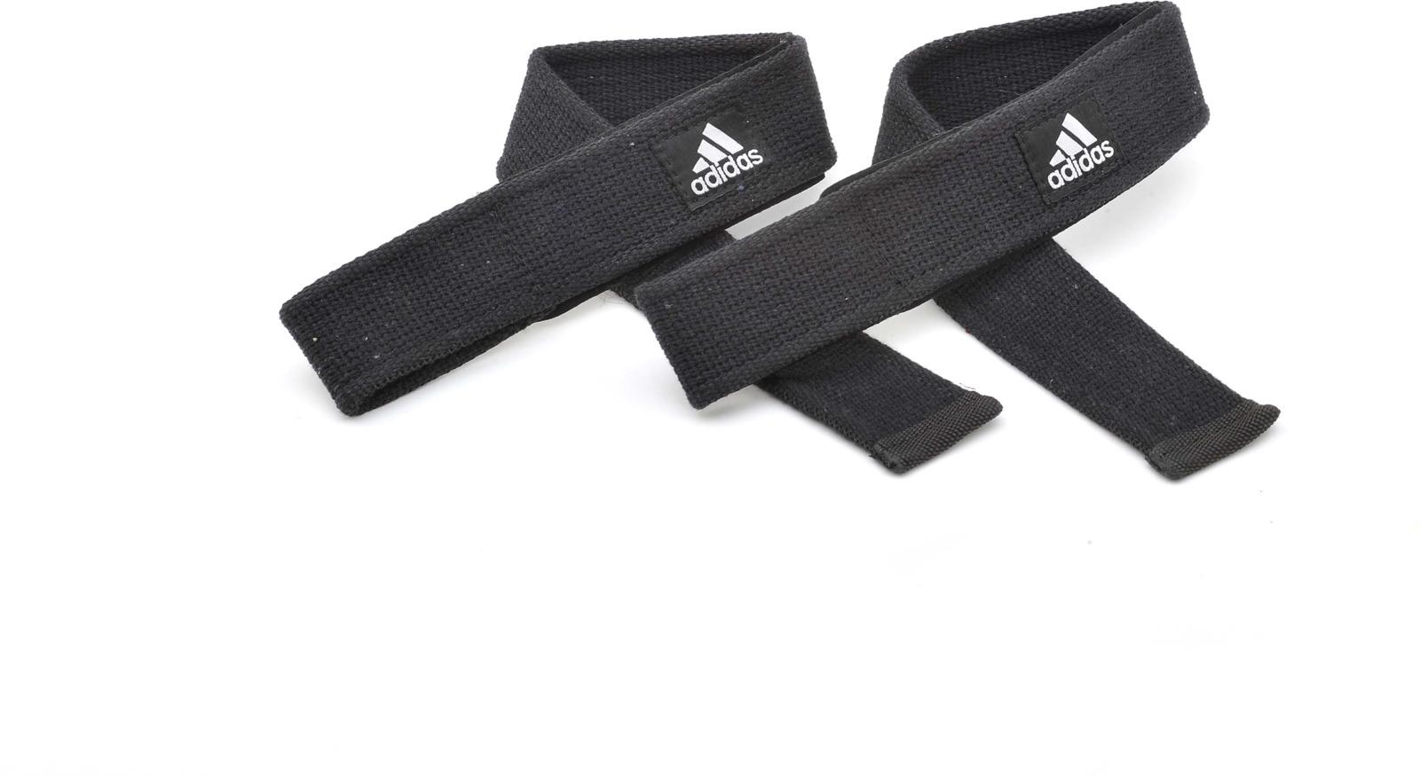 Ремень для тяги Adidas Lifting Straps, цвет: черный