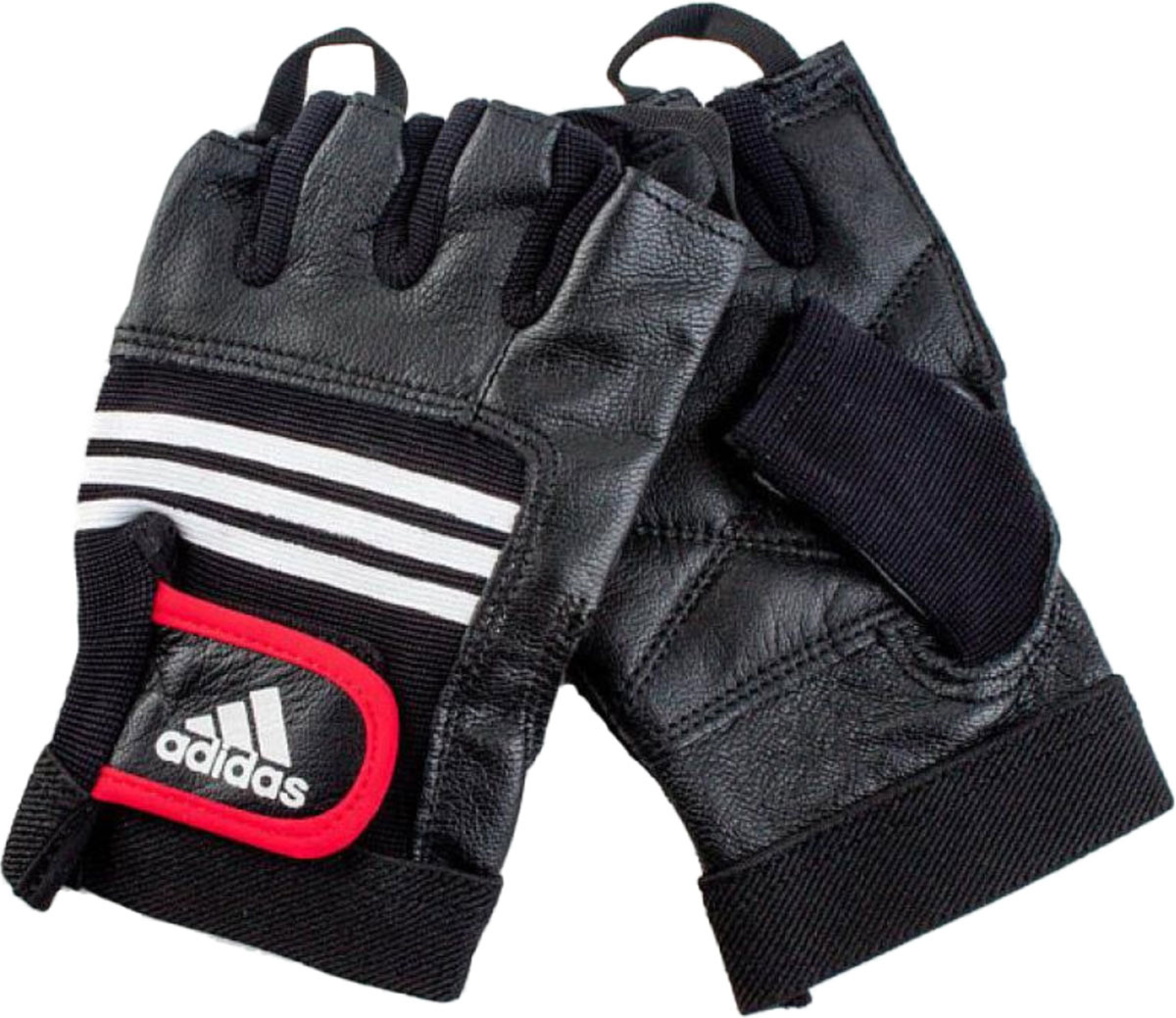 Тяжелоатлетические перчатки Adidas Leather Lifting Glove, цвет: черный, размер S/M george shaw general zoology or systematic natural history vol 3 part 2 amphibia