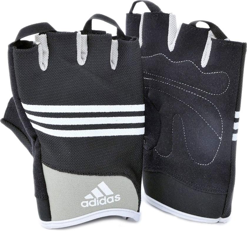 Перчатки для тренировок Adidas Stretchfit Training Glove, цвет: черный, размер S/M