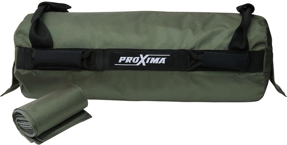 Сумка-утяжелитель для кросс-фита ProXima, цвет: зеленый. PSB-20 цена