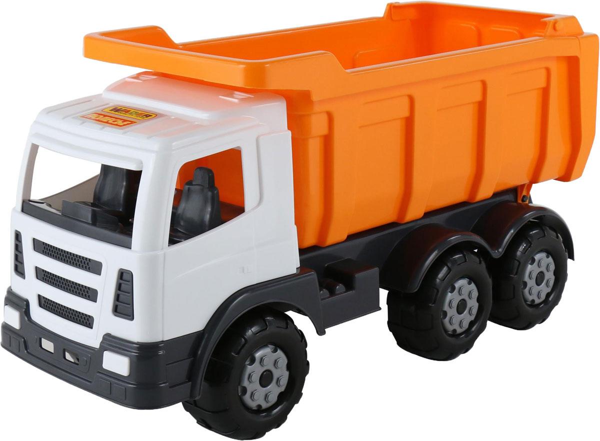 Дорожный автомобиль Полесье Премиум37244Подходящий транспорт для транспортировки стройматериалов в условиях большого города от известного производителя — белорусской фабрики «Полесье».Дизайн игрушки стилизован под настоящую технику, которую ребенок может увидеть на улицах города.Техника серии «Премиум» максимально проста и функциональна, дизайн игрушек продуман так, чтобы исключить какую либо вероятность ребенка пораниться, отсутствуют острые углы и детали.Большие колеса техники придают ей могучий вид и повышенную проходимость по различным рельефам и поверхности.Яркие цвета привлекут внимание малыша, игрушка поможет развить его фантазию и кругозор.Серия «Премиум» предназначается для детей возрастом от 3-х лет, не имеет мелких деталей, безопасна для ребенка.С многофункциональной техникой «Премиум» игра дома или в песочнице будет приятной и увлекательной.Игрушка произведена из качественных материалов, долговечного и прочного пластика. Уважаемые клиенты! Обращаем ваше внимание на цветовой ассортимент товара. Поставка осуществляется в зависимости от наличия на складе. Рекомендуем!