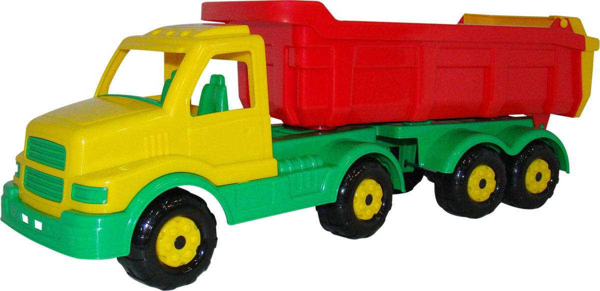 Самосвал с полуприцепом Полесье Сталкер, цвет в ассортименте грузовик orion самосвал и шары 38 5 см разноцветный 471в2