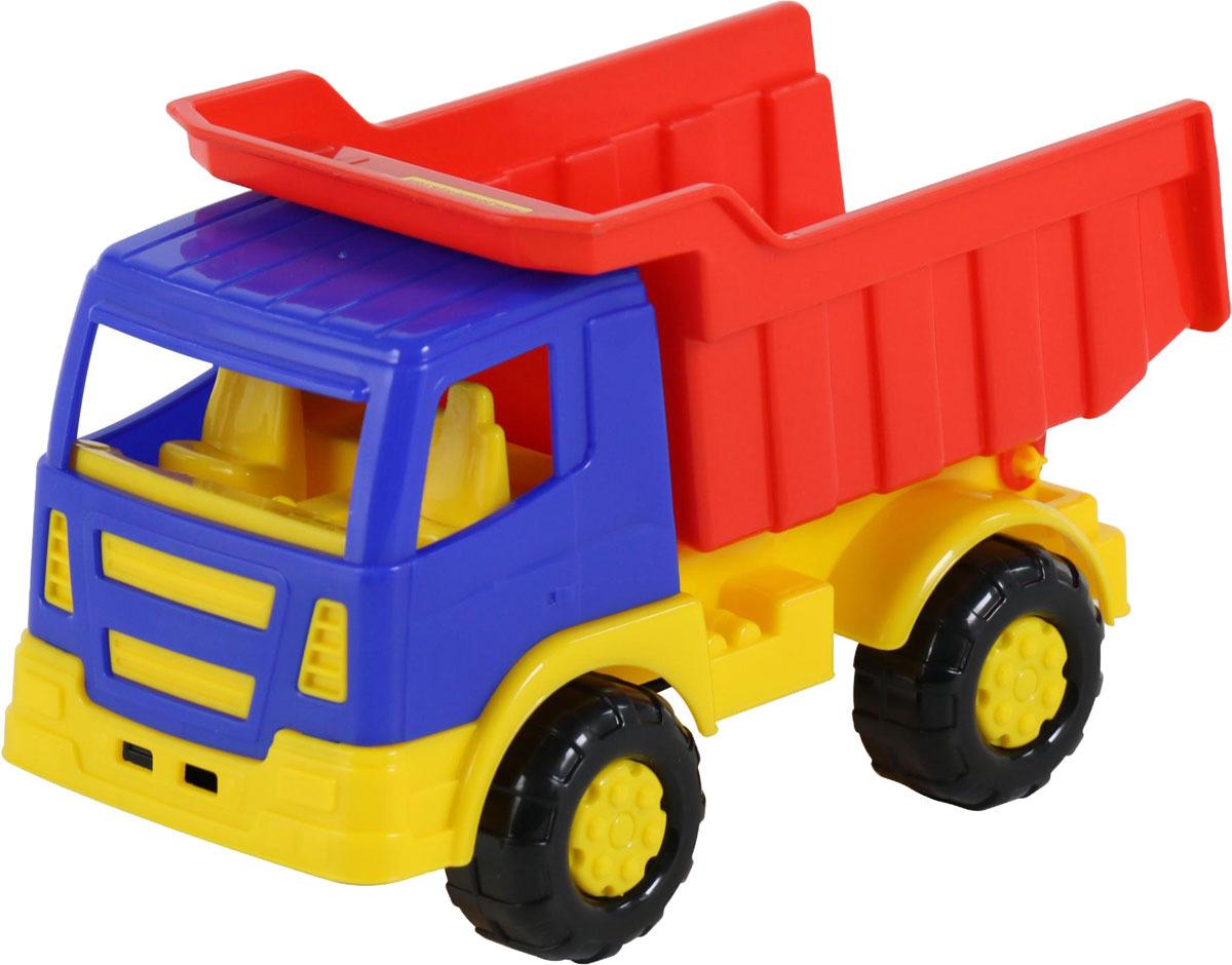 Фото - Самосвал Полесье Салют, цвет в ассортименте полесье набор игрушек для песочницы 468 цвет в ассортименте