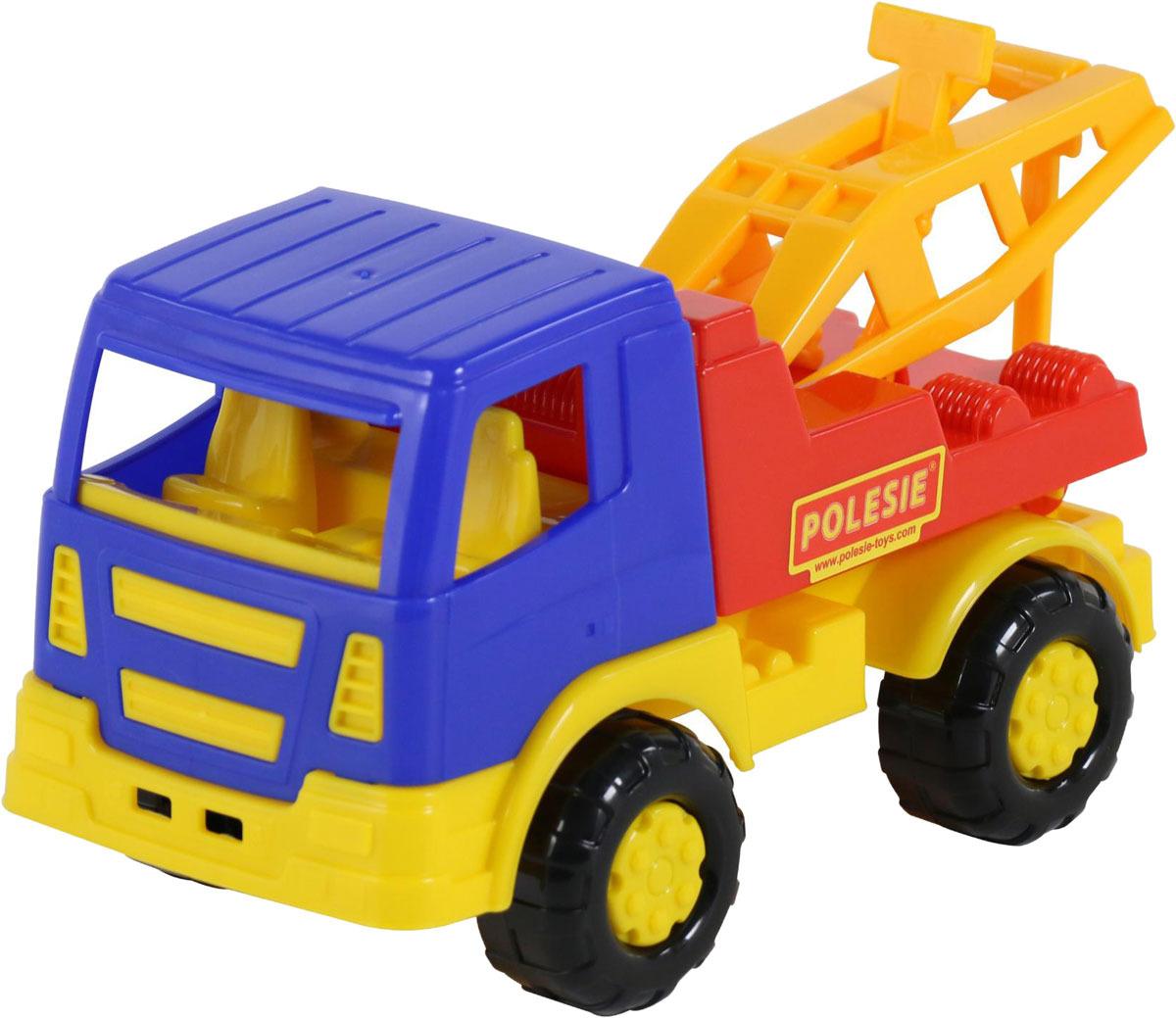 Фото - Эвакуатор Полесье Салют, цвет в ассортименте полесье набор игрушек для песочницы 468 цвет в ассортименте
