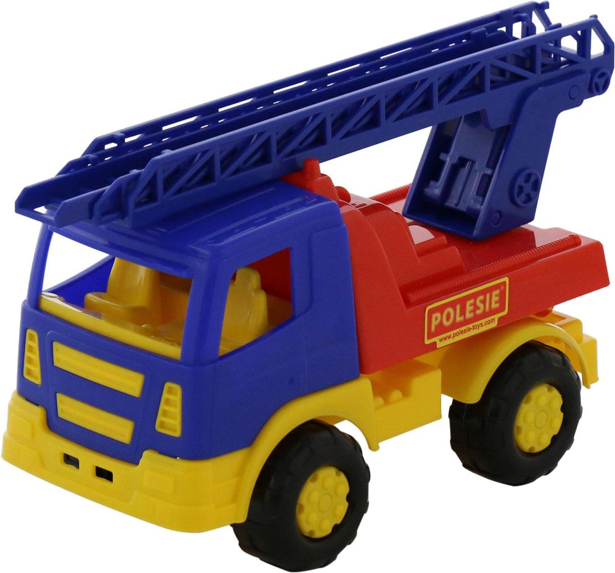 Фото - Пожарная машина Полесье Салют, цвет в ассортименте полесье набор игрушек для песочницы 468 цвет в ассортименте