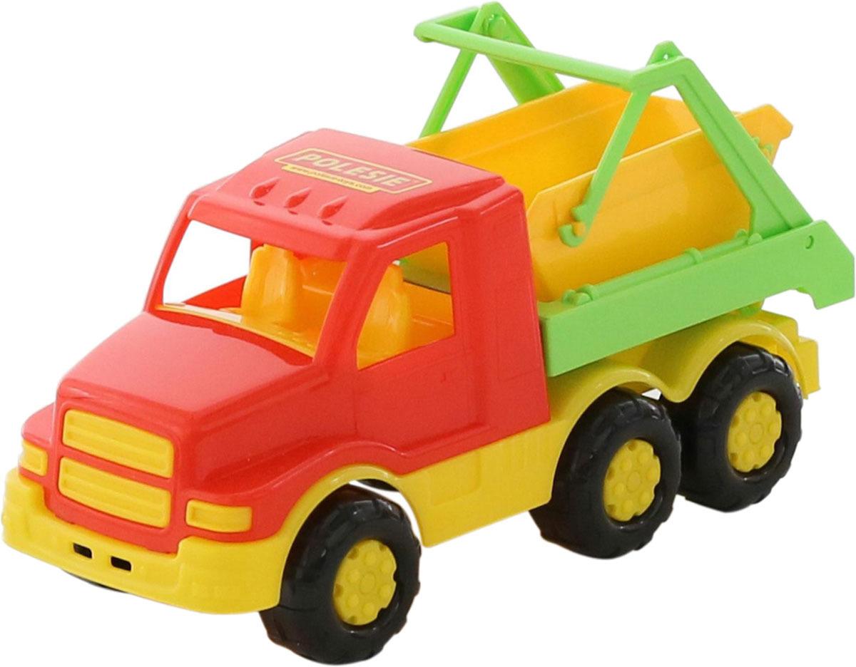 Коммунальная спецмашина Полесье Гоша, 68187 автомобиль коммунальная спецмашина полесье кнопик красная кабина