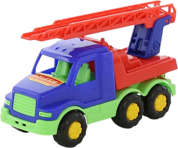 Фото - Пожарная машина Полесье Максик, цвет в ассортименте полесье набор игрушек для песочницы 468 цвет в ассортименте