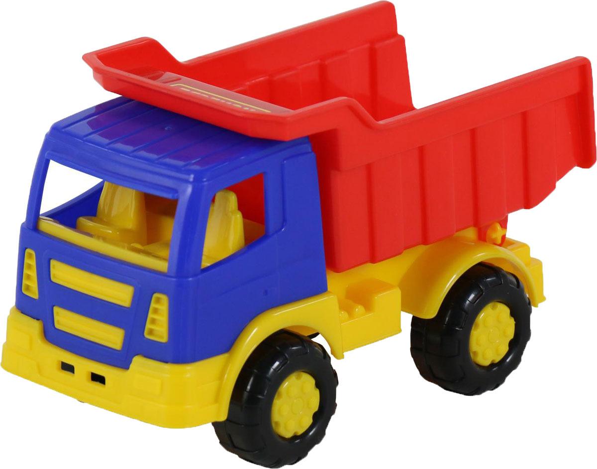 Фото - Самосвал Полесье Тема, цвет в ассортименте полесье набор игрушек для песочницы 468 цвет в ассортименте