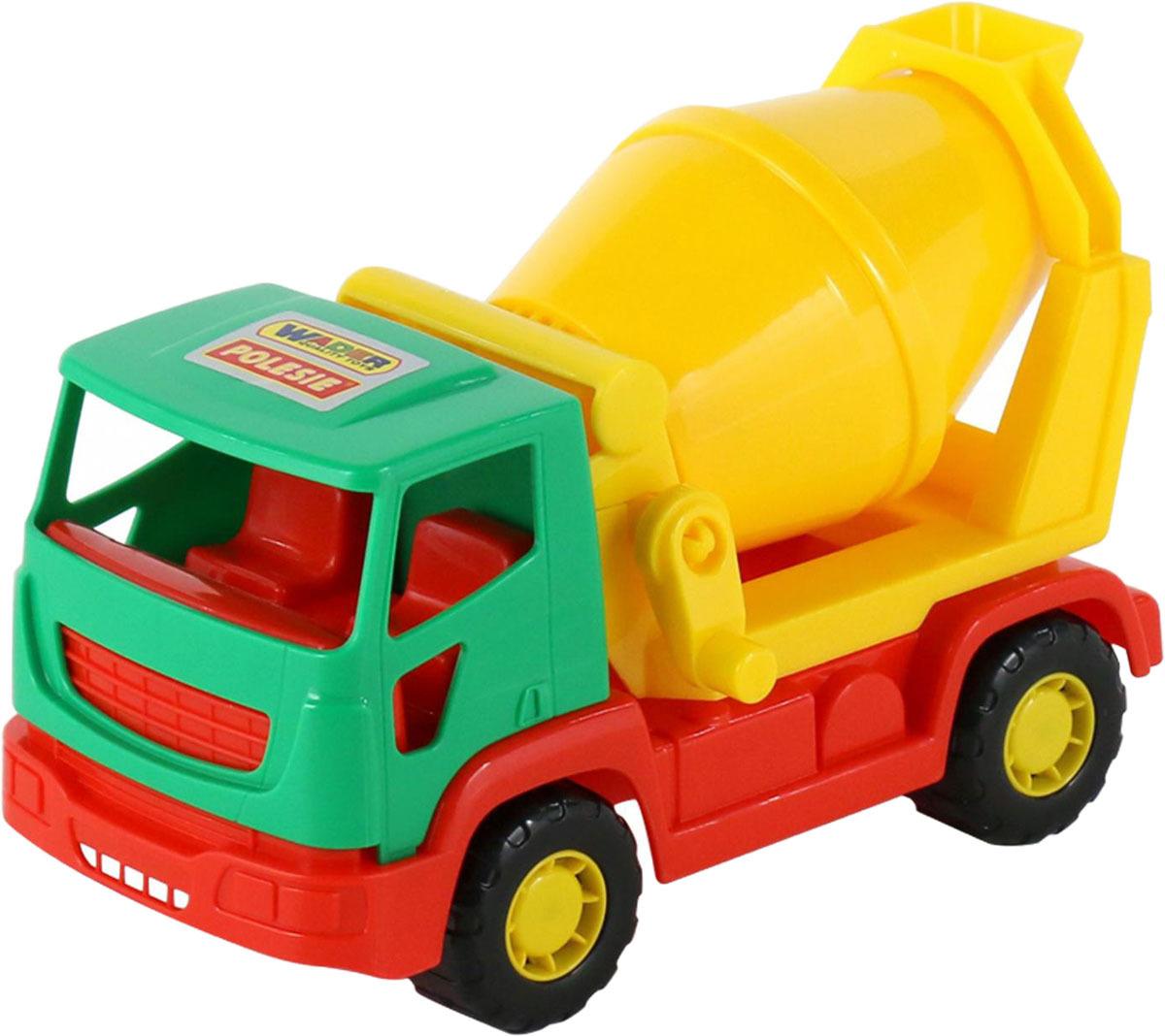 Бетоновоз Полесье Агат, цвет в ассортименте игрушка полесье агат 56429