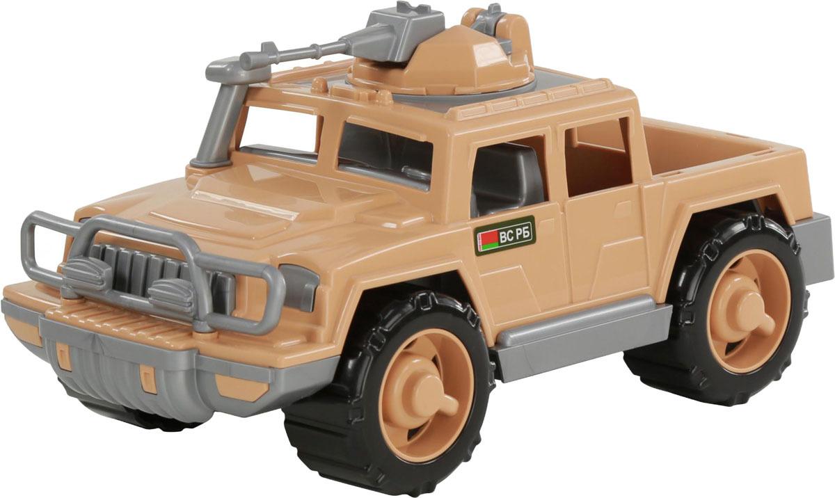 Фото - Пикап военный Полесье Защитник-Сафари, 69047, с 1-м пулеметом, цвет в ассортименте полесье набор игрушек для песочницы 468 цвет в ассортименте