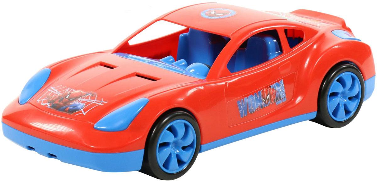 Машинка Полесье Marvel. Мстители. Человек-Паук, цвет в ассортименте автомобиль полесье мстители тор черный