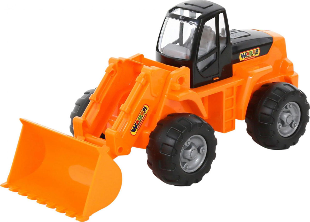 Трактор-погрузчик Полесье, цвет в ассортименте
