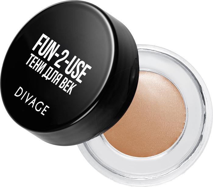 Тени для век Divage Eyeshadow In A Jar, Тон Fun 2 Use № 01